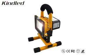 China Yellow Portable 12 Volt Rechargeable Led Flood Lights 5Watt / 450LM Camping Light on sale
