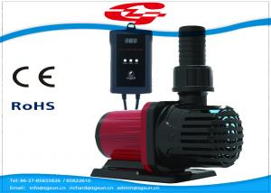 China 3000L/H high flow solar DC water pump with filter for Fountain and Aquarium on sale