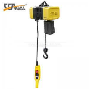 China 1 Ton Durable Steel Forged Electric Chain Hoist For Construction on sale