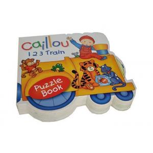 China Customized Full Color Educational Printing Shaped Books for Preschool on sale