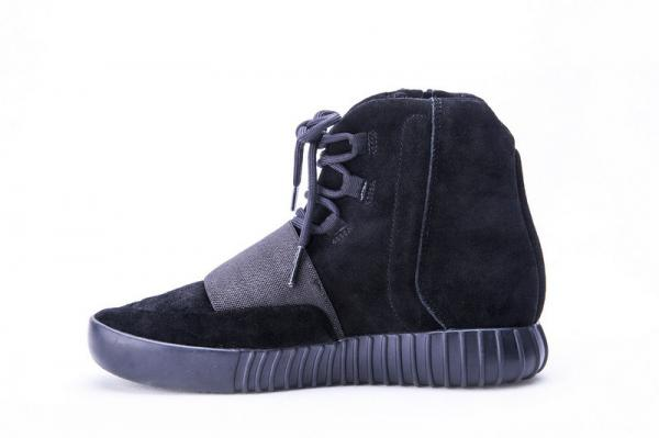cc3e8731 Adidas Yeezy 750 Boost Kanye West Pirate Triple Black Suede BB1839 Real  Boost Images