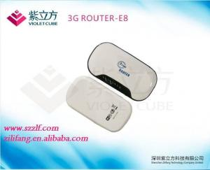 China Mobile 3G Pocket Router Built-in 3G SIM Card With Lithium Battery on sale