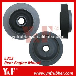 China Professional Excavator Accessories Durable Rear Engine Cushion Rubber Engine Mounts For CAT on sale