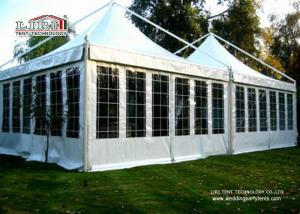 China 3 Metres to 6 Metres Outdoor Canopy Gazebo Tents With Water Proof And Anti UV For Luxurious Hotels on sale