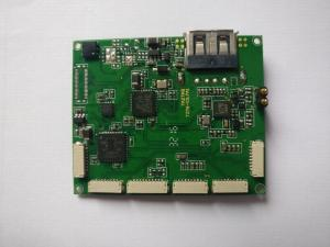 China RF HDI Low Volume PCB Assembly with blind and buried vias and 1.5oz outer copper 1oz inner copper on sale
