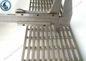 China 304 Flat Stainless Steel Wedge Wire Screen Panels Anti Corrosion 0.2mm Slot on sale