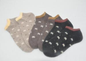 China S / M / L Autumn Knitted Cotton Ankle Cut Socks For Girls / Children on sale