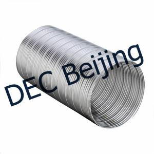 China Fire resistance Semi Rigid Flexible Duct 8 inch semi-rigid flexible duct on sale