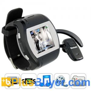 """China Grande Porto - 1.5"""" Touchscreen Cell Phone Watch (850mAh, Quad Band) on sale"""