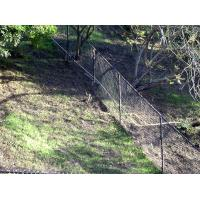 ASTM 392 standard chain link fence with posts and accessories
