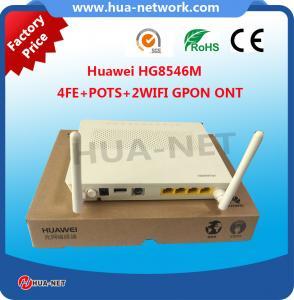 China 4FE+Pots+wifi Gpon Ont HG8546M Huawei 4G Modem Wifi on sale