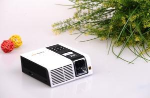 China Mini LED Projector HD 1080p - 1024 * 768 - HDMI, VGA, Audio, Video, USB, SD Card Slot on sale