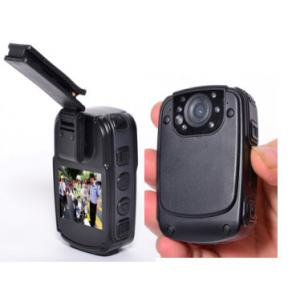China 130 Degree Wide Angle Police Wearing Body Cameras DVR With 2'' Screen And IR Night Vision on sale
