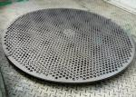 0.4mm Thickness Round Hole  Perforated Metal Mesh 2m Length 1m Width
