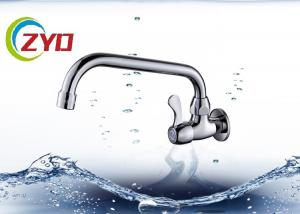 China One Hole Water Tap Faucet Zinc Handle Durable High Strength Material on sale