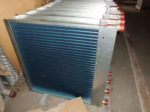 China high-quality blue fin copper tube heat exchanger made in China on sale