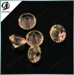 Round Faceted Created Gemstone 204# Color Change Nanosital