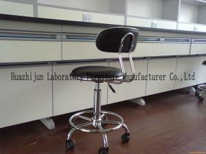 China PU Lab Chairs Manufacturer / PU Lab Stools Price / PU Lab Height Chairs Sat Back on sale