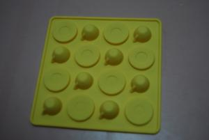 China Round Shape Silicone Kitchen Utensils , Silicone Cake Moulds on sale