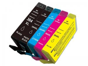 China 37ml Remanufactured Compatible Printer Ink Cartridges for HP 364XL Multipack 364 XL on sale
