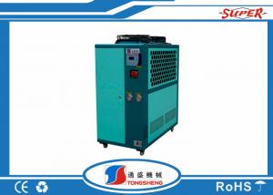 China 3 Ton 5HP R134A Compressor Industrial Water Chiller , Air Cooled Scroll Chiller on sale