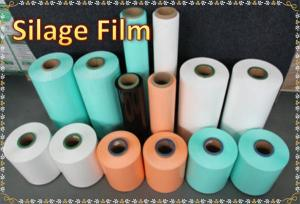 China Silage Film Silage Herbage Membranes Agricultural Silage Stretch Film on sale
