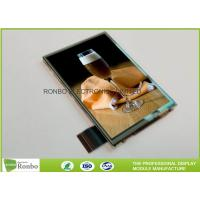 China 3.5 Inch Touch Screen Lcd Panel Navigation Resistive Touch 320 * 480 Resolution on sale