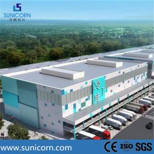 China Chiller Room Design Cold Storage Warehouse , Insulated Wall Panels Cold Room on sale