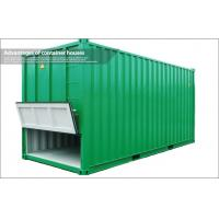 China 20Ft Prefabricated Shipping Container Housing / Shipping Crate Houses for Station on sale