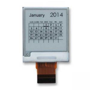 China 200x200 SPI interface E Ink Display 1.54 inch with IC SSD1675 on sale