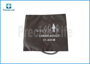 China Adult Size Extra Large Blood Pressure Cuff  Reusable Latex Free Medical Parts on sale