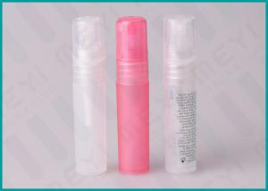 China Small Size 5 ML PP Pen Perfume Bottle Packaging With Round Or Flat Dust Cap on sale