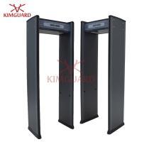 Portable Multi Zone Door Frame Metal Detector 6 Zone With IR Sensors Sensitivity Ajustable