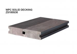 China WPC COMPOSITE OUTDOOR DECKING / TERRACE FLOORING/ SOLID HARD WOOD BOARD on sale