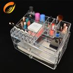 China High standard Clear acrylic makeup storage wholesale