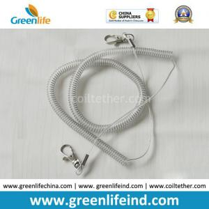China Plastic Retention Clear Rope Chain Snap Hook Security Leash on sale