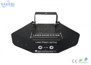China 6in1 Scanning Laser Stage Light For KTV / Beam Laser Show Stable Quality on sale