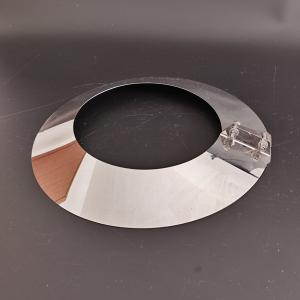 China Stainless Steel Pipe Storm Collar Chimney Collar Flue Liner Flange Rain Cover on sale