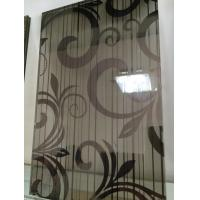Black Silk Tempered  Laminated Art Glass