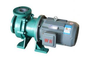 China Stainless Steel Sealed Chemical Transfer Pumps With Electric Motor IHF 200-150-400 on sale
