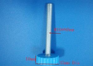 China k037 blue PP 35mm furniture legs refrigerator feet  leveling feet on sale