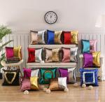 100% polyester fabric, solid color background cushion covers, cheap price digital printing cushions