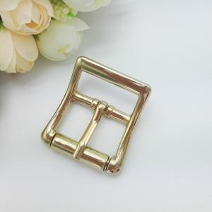 China Stylish Metal Swivel Hook Roller , Reversible Pin Brass Belt Buckles For Clothing on sale