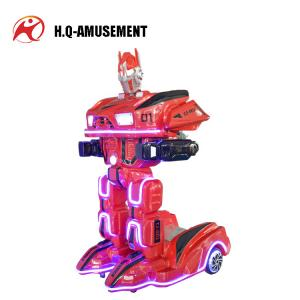 China 2018 popular game machine new design rc electric robot toys mini robot amusement park ride on robot for kids on sale