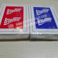 Casino Broadway Plastic Playing Cards With Invisible Ink Markings