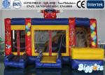 China Clown Commercial Inflatable Bouncer with Slide , Outdoor Jumping Castle Combo wholesale