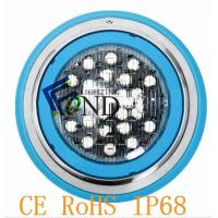 High Efficiency Stainless Steel  LED Swimming Pool Lights Led Battery Lights fountain waterproof IP68