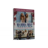 Mamma Mia! 2-Movie Collection DVD Movie Adventure Romance Musicals Comedy Series Movie DVD