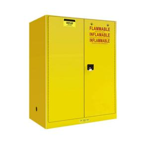 China Steel Flammable Safety Cabinet , Anti Explosion Flammable Solvent Cabinet on sale