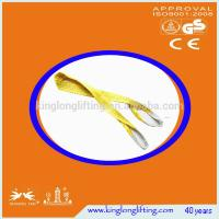 China Flat Lifting Chain Slings , Round Lifting Slings 5:1 For Stone Marble Glass on sale